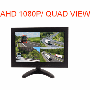 10.1 Inch Quad Rear view Display  AHD Split Monitor for Heavy Truck