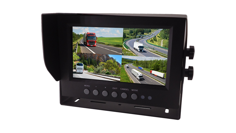 7-Inch 1080P HD Quad-View Monitor Featured Image