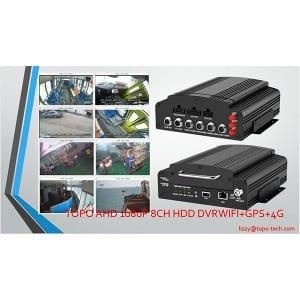 8CH HDD Mobile DVR SYSTEM